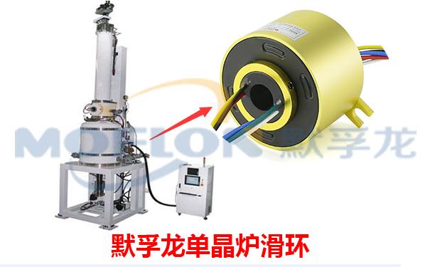 导电滑环在单晶炉行业的应用介绍   单晶炉是一种在惰性气体(氮气、氦气为主)环境中,用石墨加热器将多晶硅等多晶材料熔化,用直拉法生长无错位单晶的设备。推荐使用MT3899系列滑环,此系列滑环的孔径在38.1mm,外径为99mm,路数为1到60路,或者按照客户的要求,电流可以做到5A,10A,15A,20A每路!